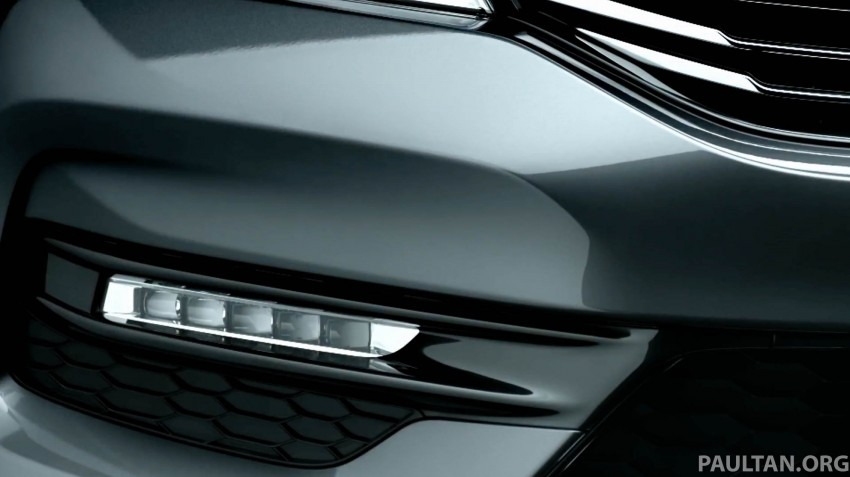 2016 Honda Accord facelift teased for Thailand debut Image #440669