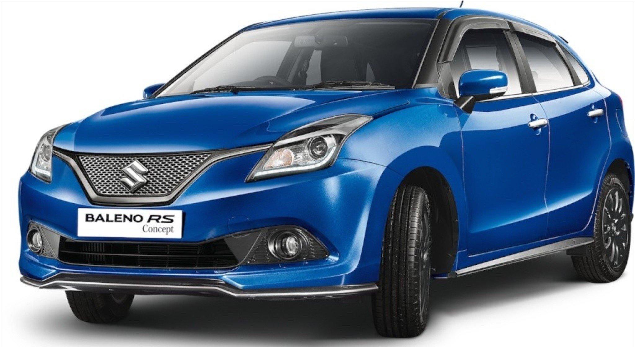 2016 Delhi Auto Expo Top 10 Concept Cars: Suzuki Baleno RS Concept Shown At Delhi Auto Expo