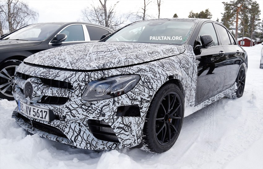 SPYSHOTS: Mercedes-AMG E63 up close and personal Image #448233