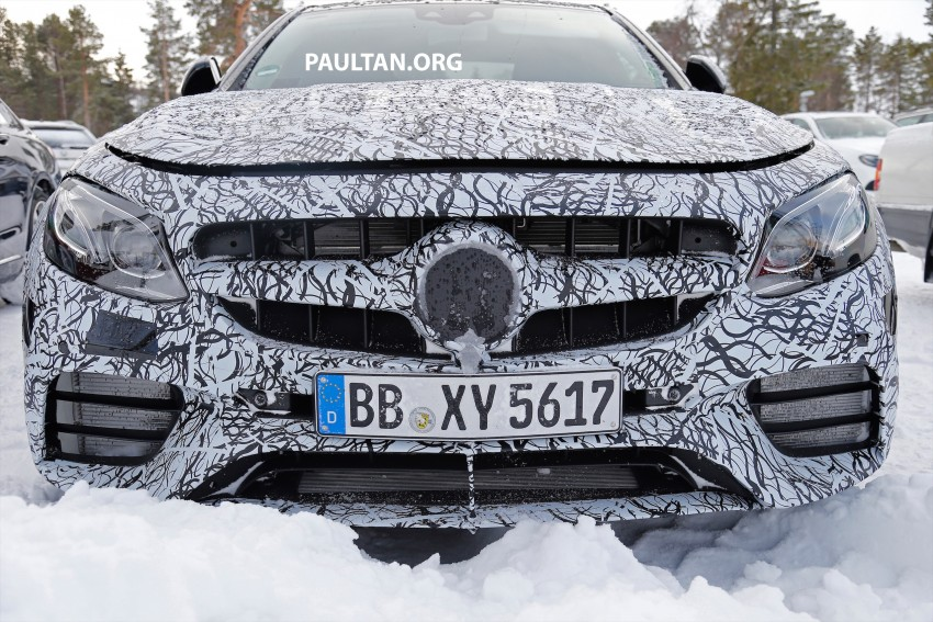 SPYSHOTS: Mercedes-AMG E63 up close and personal Image #448234