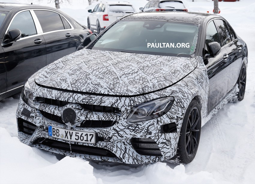 SPYSHOTS: Mercedes-AMG E63 up close and personal Image #448236