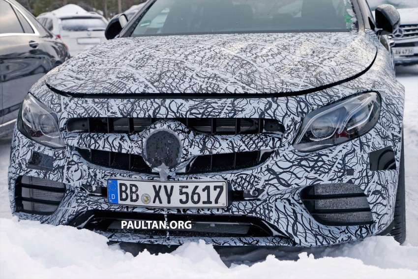 SPYSHOTS: Mercedes-AMG E63 up close and personal Image #448237