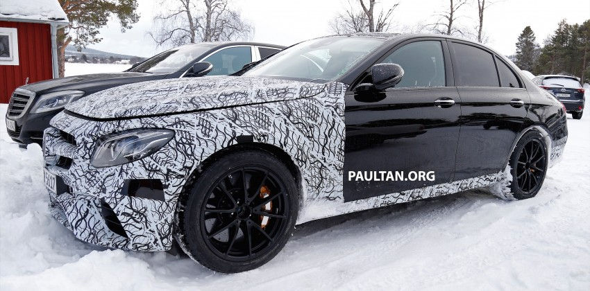 SPYSHOTS: Mercedes-AMG E63 up close and personal Image #448238