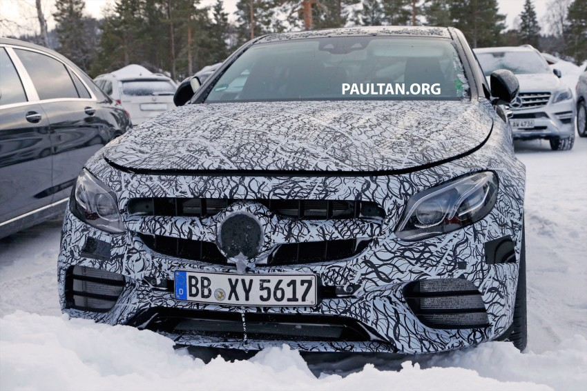 SPYSHOTS: Mercedes-AMG E63 up close and personal Image #448239