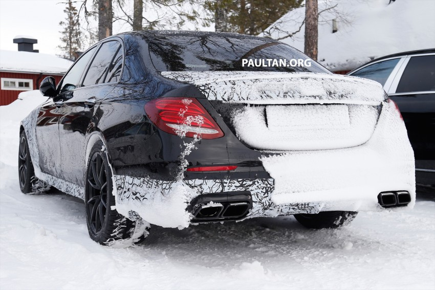 SPYSHOTS: Mercedes-AMG E63 up close and personal Image #448241