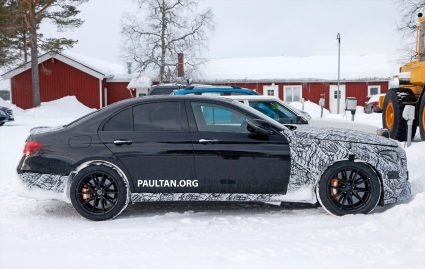 SPYSHOTS: Mercedes-AMG E63 up close and personal Image #448242