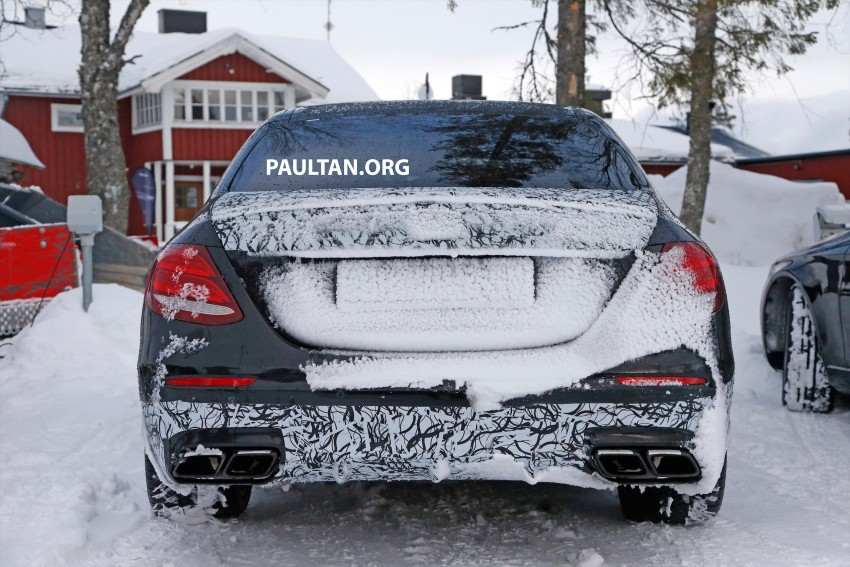 SPYSHOTS: Mercedes-AMG E63 up close and personal Image #448243
