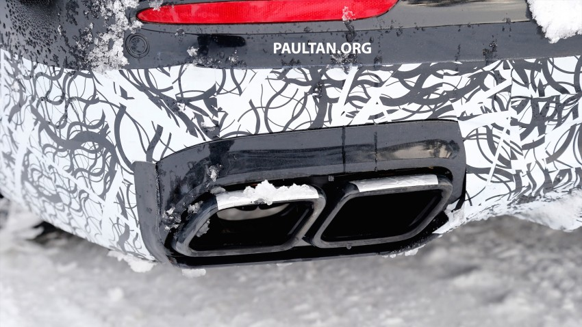 SPYSHOTS: Mercedes-AMG E63 up close and personal Image #448244