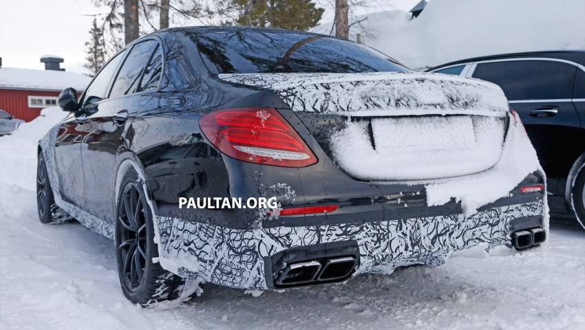 SPYSHOTS: Mercedes-AMG E63 up close and personal Image #448245