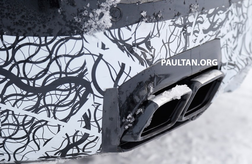 SPYSHOTS: Mercedes-AMG E63 up close and personal Image #448246
