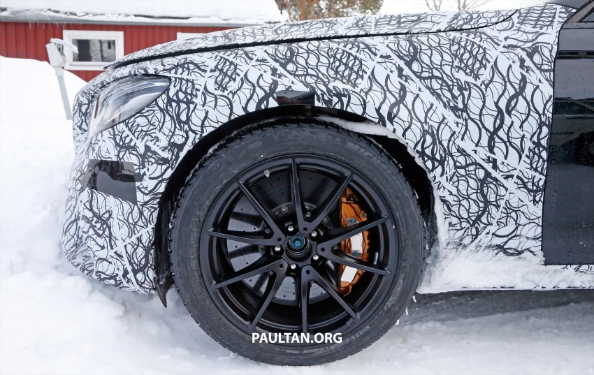 SPYSHOTS: Mercedes-AMG E63 up close and personal Image #448247