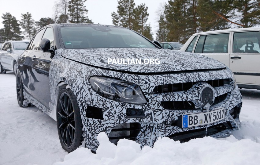 SPYSHOTS: Mercedes-AMG E63 up close and personal Image #448249