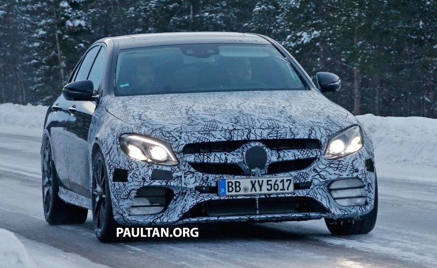 SPYSHOTS: Mercedes-AMG E63 up close and personal Image #448252