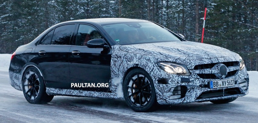 SPYSHOTS: Mercedes-AMG E63 up close and personal Image #448253