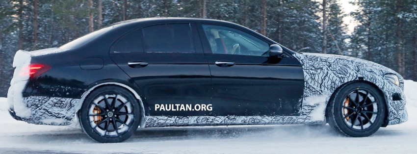 SPYSHOTS: Mercedes-AMG E63 up close and personal Image #448255