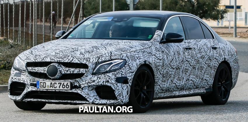 SPYSHOTS: Mercedes-AMG E63 sheds more camo Image #440853