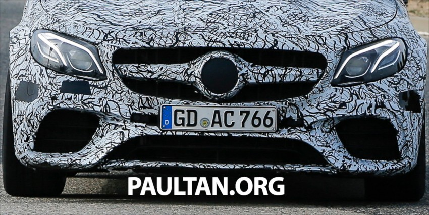SPYSHOTS: Mercedes-AMG E63 sheds more camo Image #440857