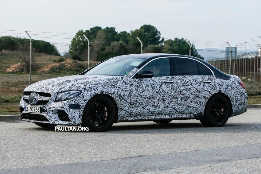 SPYSHOTS: Mercedes-AMG E63 sheds more camo Image #440861