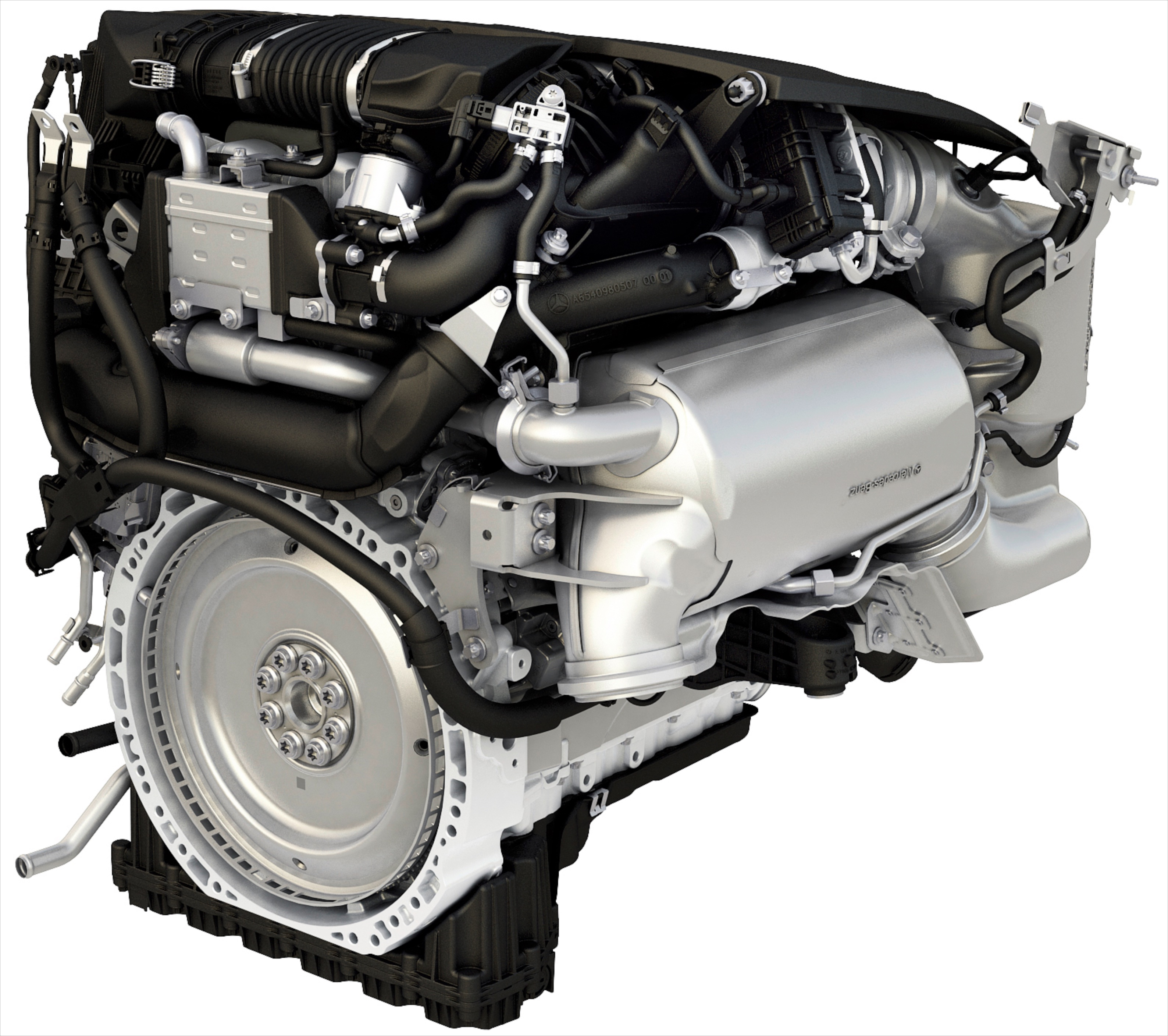 Mercedes benz new om654 2 0 litre turbodiesel engine for Mercedes benz diesel engines