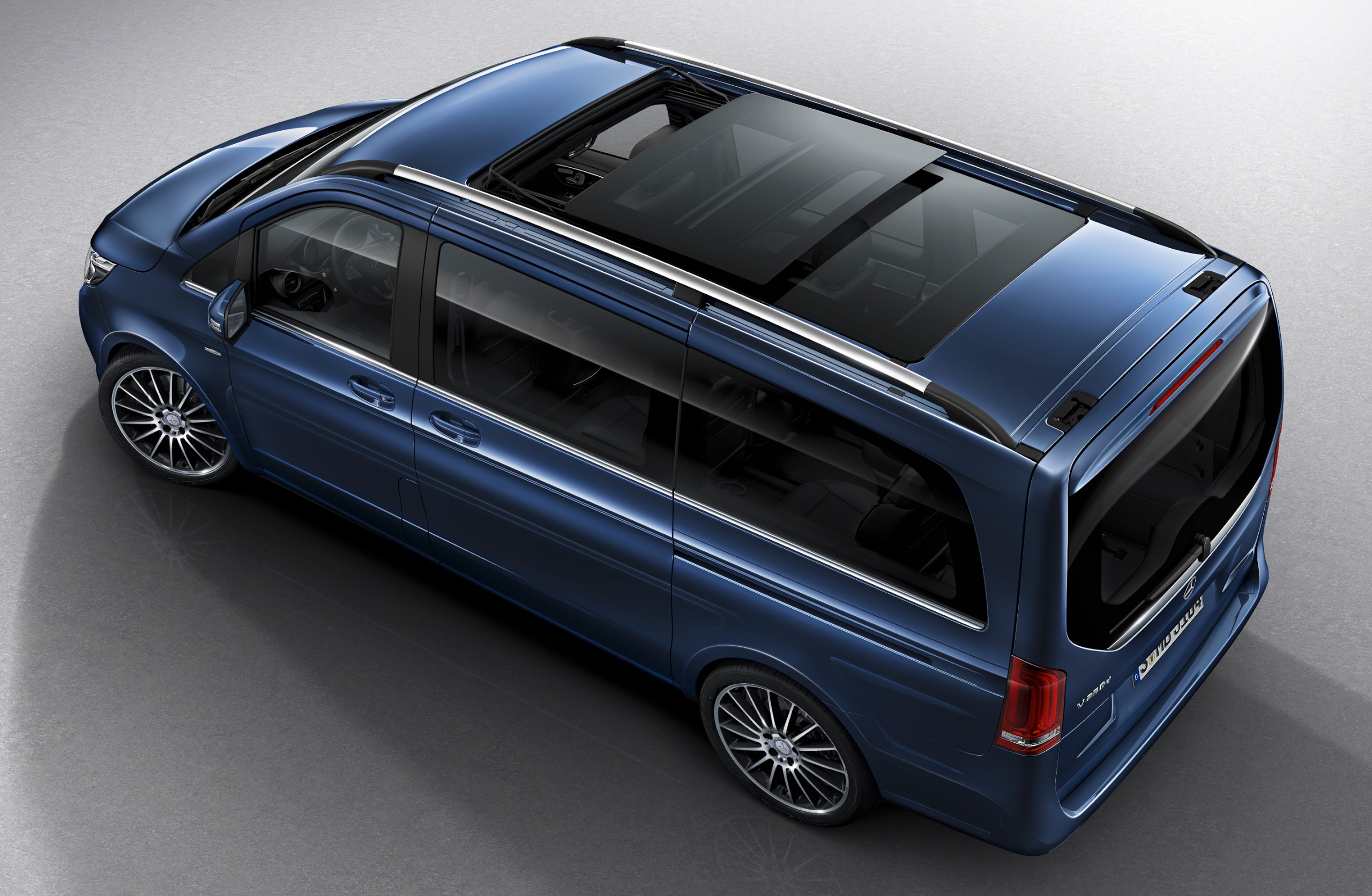Mercedes-Benz V-Class MPV Updated For 2016