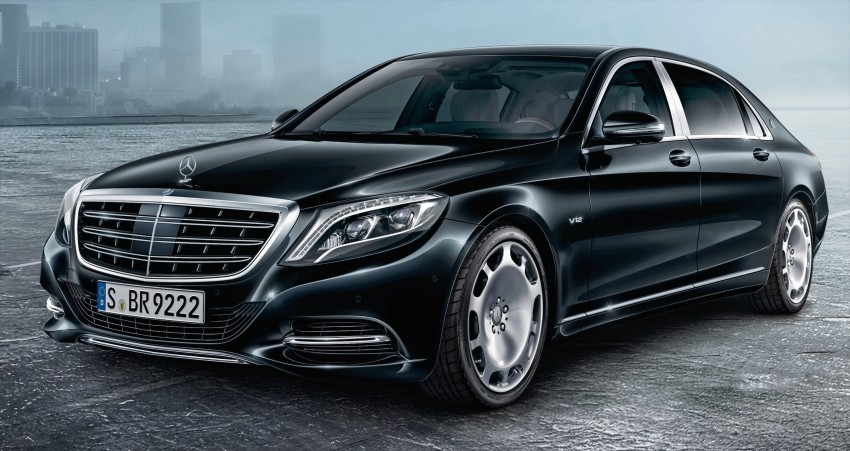 Mercedes-Maybach S600 Guard debuts – VR10 armour Image #445995