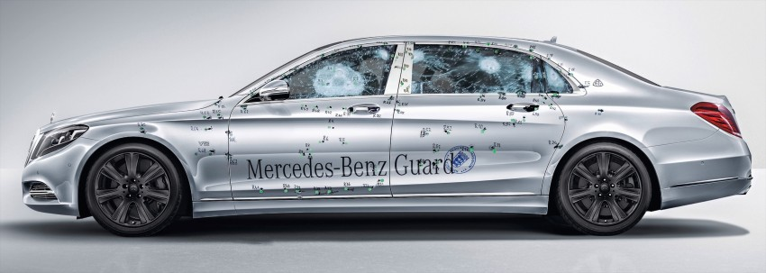 Mercedes-Maybach S600 Guard debuts – VR10 armour Image #445996