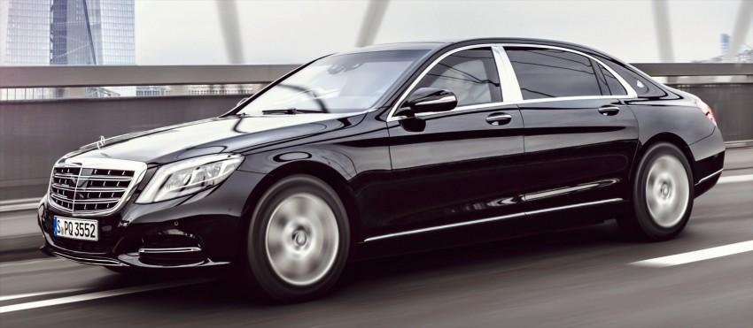 Mercedes-Maybach S600 Guard debuts – VR10 armour Image #445997