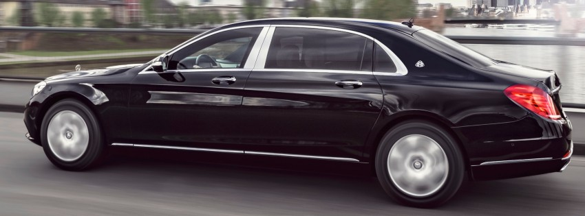 Mercedes-Maybach S600 Guard debuts – VR10 armour Image #446000