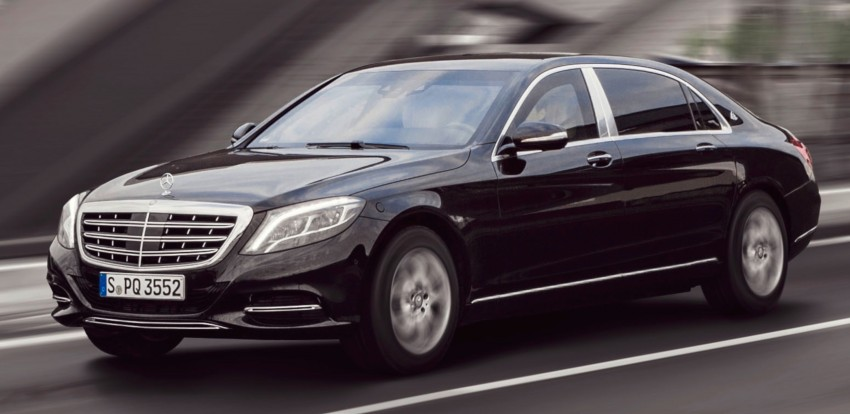 Mercedes-Maybach S600 Guard debuts – VR10 armour Image #446001