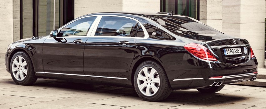 Mercedes-Maybach S600 Guard debuts – VR10 armour Image #446003