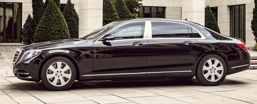 Mercedes-Maybach S600 Guard debuts – VR10 armour Image #446004