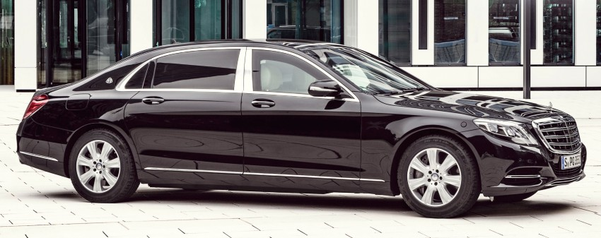 Mercedes-Maybach S600 Guard debuts – VR10 armour Image #446005