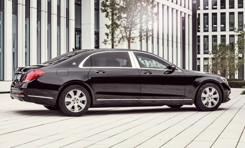 Mercedes-Maybach S600 Guard debuts – VR10 armour Image #446006