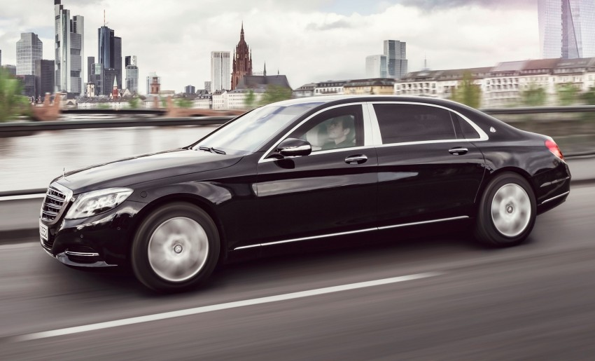 Mercedes-Maybach S600 Guard debuts – VR10 armour Image #446007