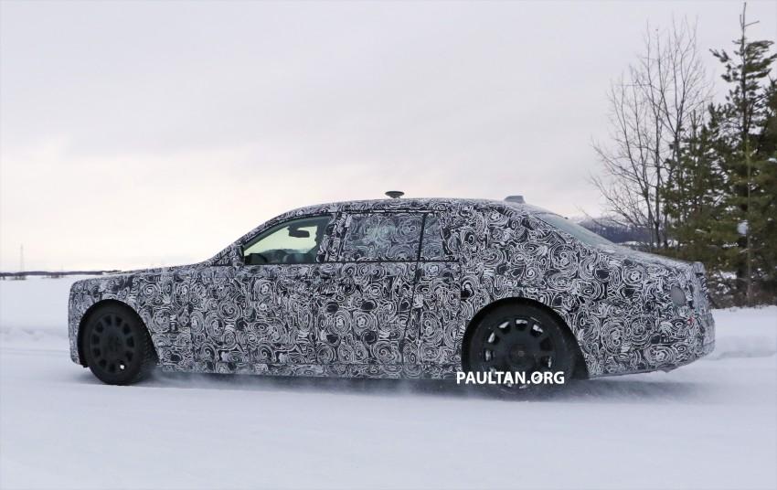 SPYSHOTS: New Rolls-Royce Phantom on winter test Image #439936