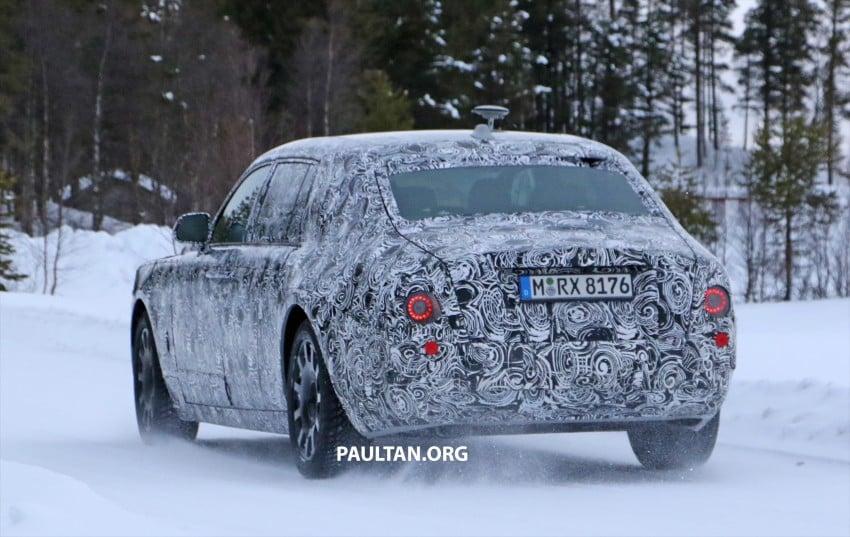 SPYSHOTS: New Rolls-Royce Phantom on winter test Image #439940