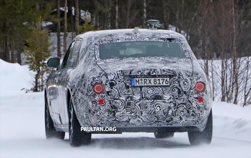 SPYSHOTS: New Rolls-Royce Phantom on winter test Image #439941