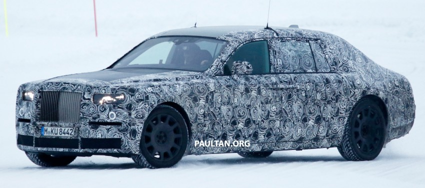 Rolls-Royce Phantom to be discontinued – next-gen model set for 2018, along with new SUV Image #447202