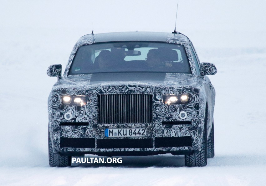 Rolls-Royce Phantom to be discontinued – next-gen model set for 2018, along with new SUV Image #447205