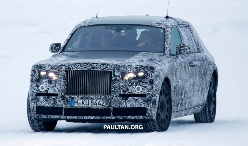 Rolls-Royce Phantom to be discontinued – next-gen model set for 2018, along with new SUV Image #447206