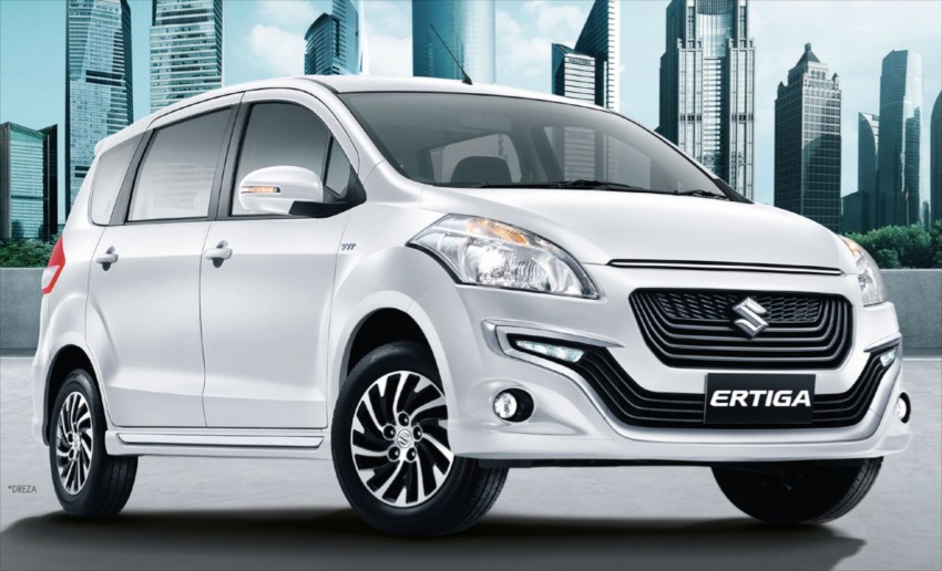 Suzuki Ertiga, Dreza launched in Thailand, from RM76k Image #441929