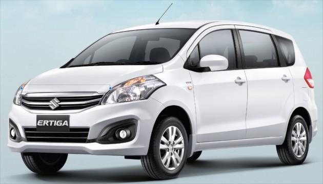 Suzuki Ertiga Diesel To Debut In Indonesia Early 2017