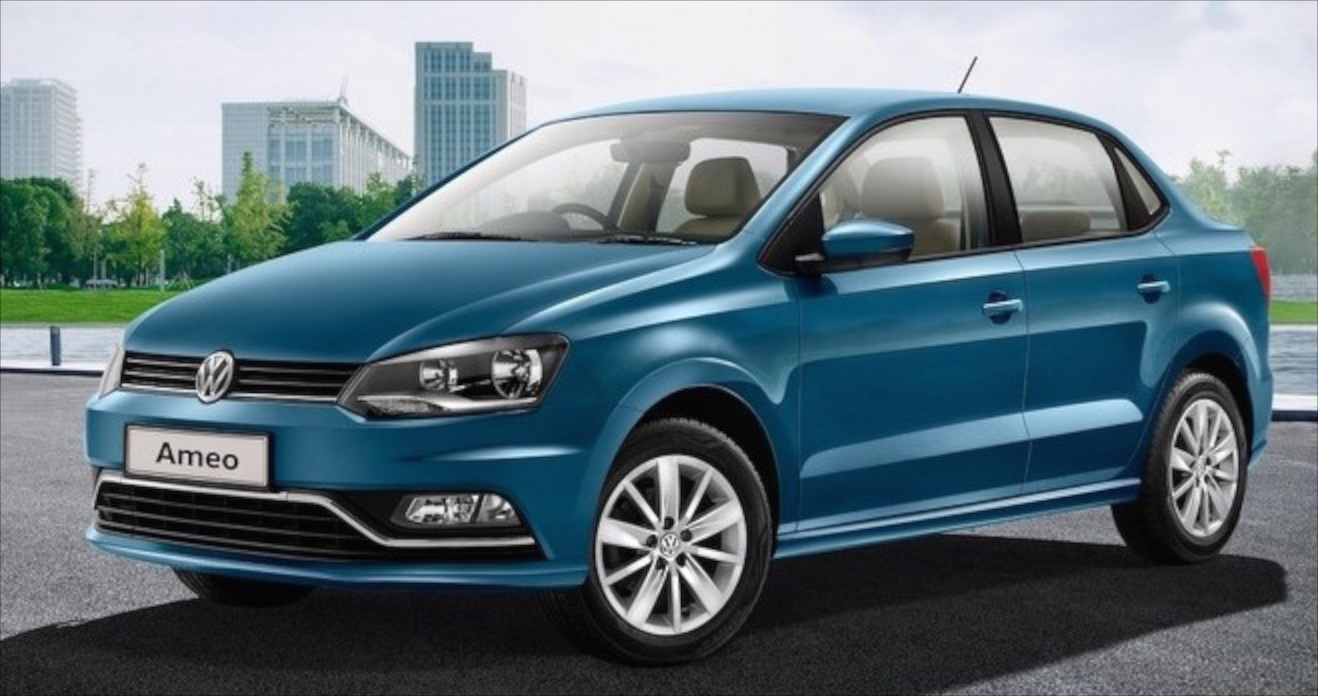 volkswagen ameo a new compact sedan for india. Black Bedroom Furniture Sets. Home Design Ideas