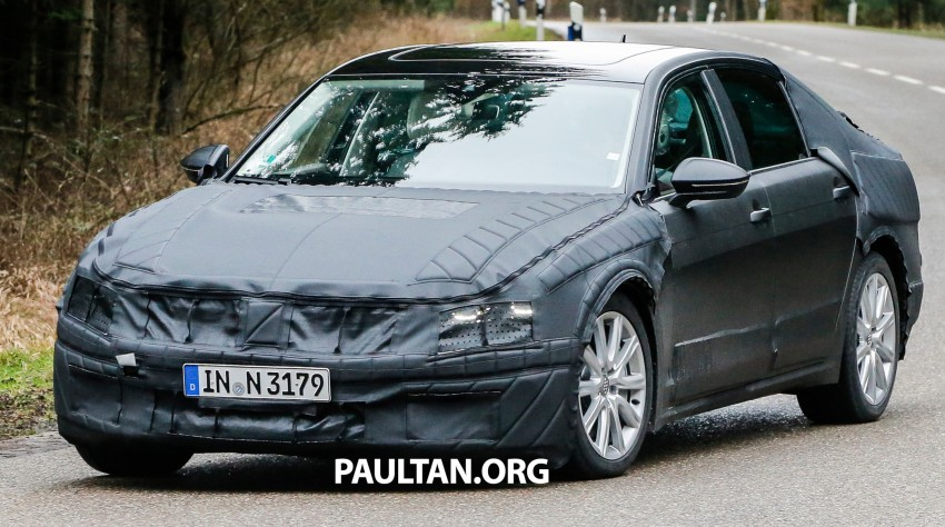 SPYSHOTS: Next-gen Volkswagen Phaeton – is this it? Image #438519