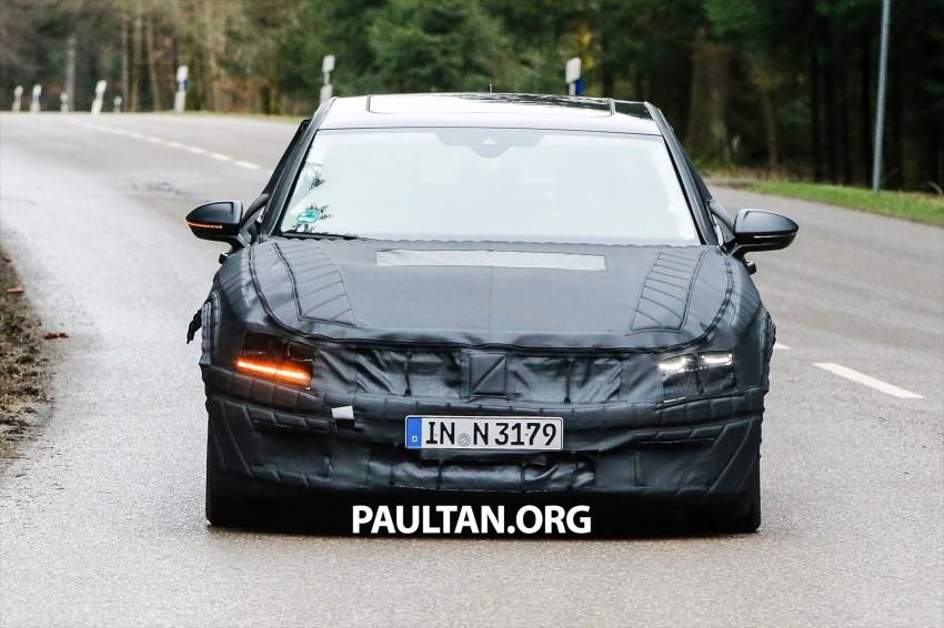 SPYSHOTS: Next-gen Volkswagen Phaeton – is this it? Image #438520