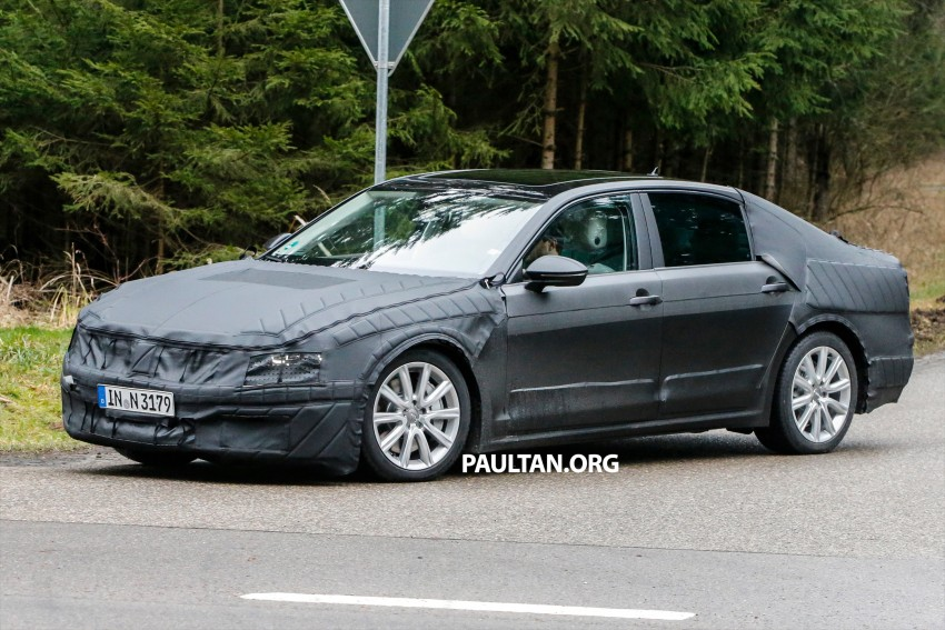SPYSHOTS: Next-gen Volkswagen Phaeton – is this it? Image #438522