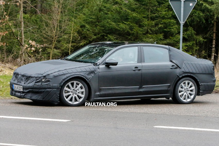 SPYSHOTS: Next-gen Volkswagen Phaeton – is this it? Image #438523