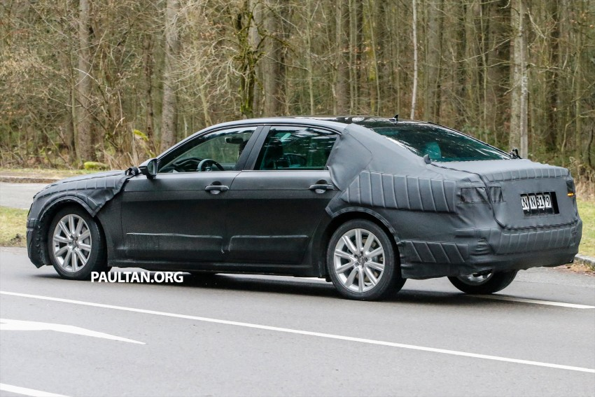 SPYSHOTS: Next-gen Volkswagen Phaeton – is this it? Image #438526