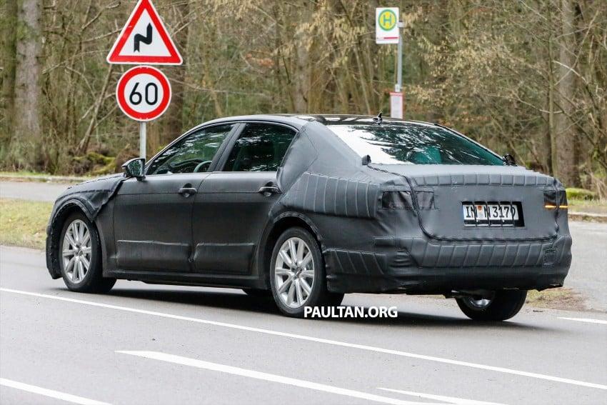 SPYSHOTS: Next-gen Volkswagen Phaeton – is this it? Image #438527
