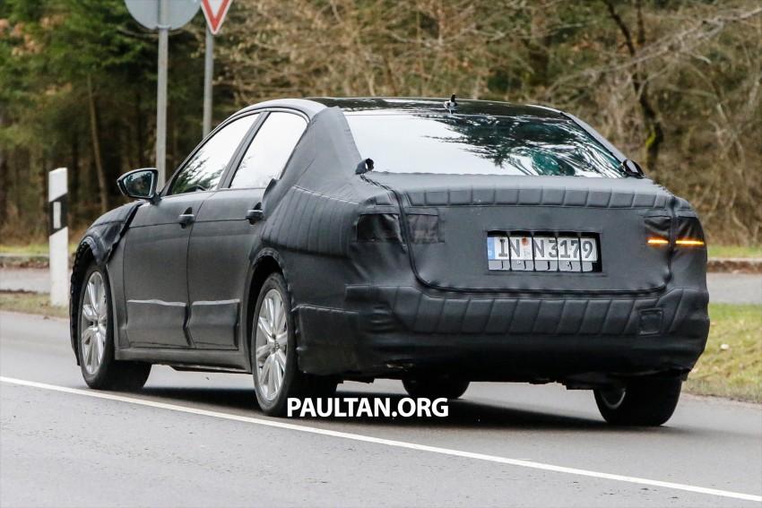 SPYSHOTS: Next-gen Volkswagen Phaeton – is this it? Image #438528